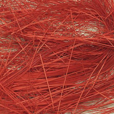 Стружка бумажная красная
